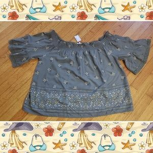 Nwt Maurice's top fits 18/20